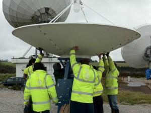 exactEarth Antenna Construction