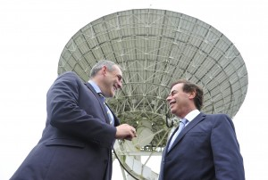 Rory Fitzpatrick, CEO National Space Centre with Justice Minister, Alan Shatter