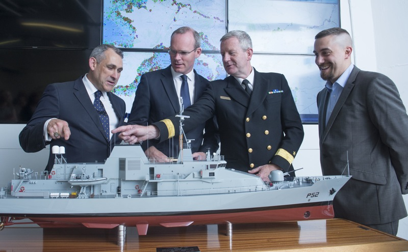Minister announces Naval Service Contract