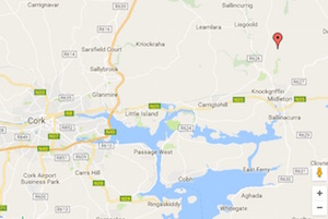 mapa elfordstown