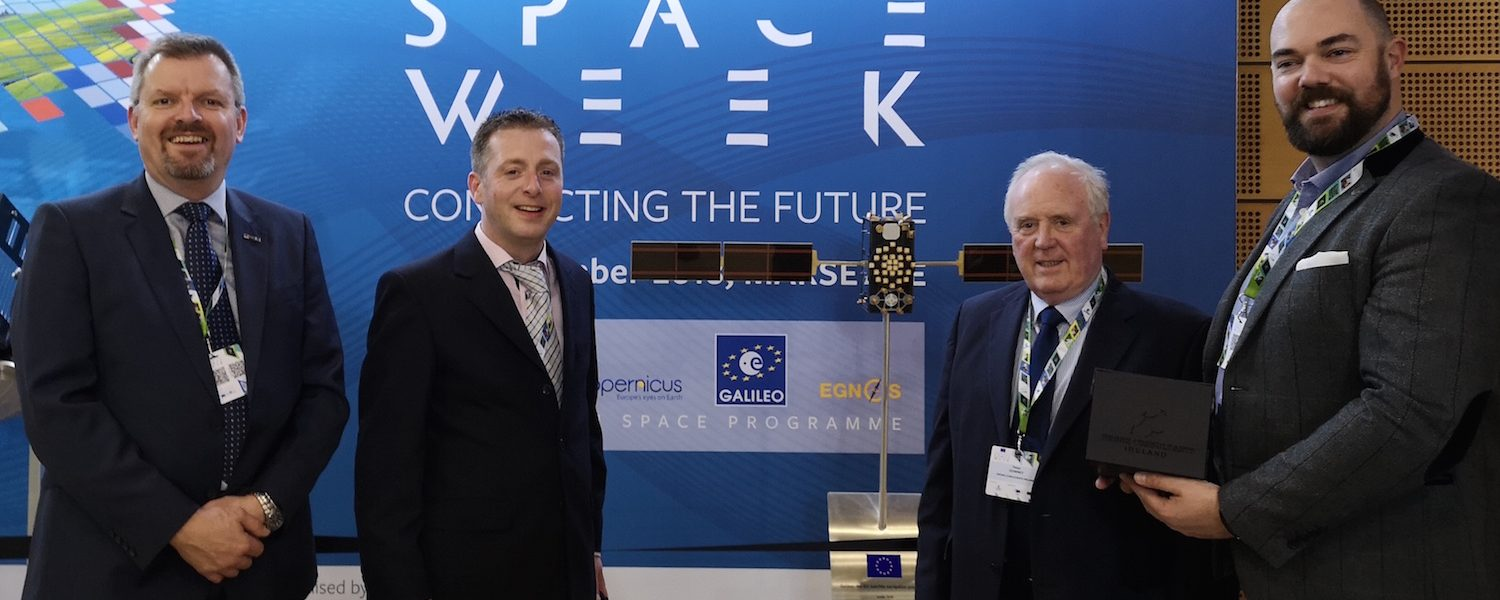 Ireland entry wins €62K Accelerator business incubation package at Space Oscars in Marseille